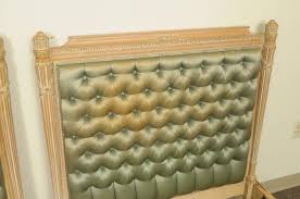 upholstered beds for sale.  Beds Pair Of Italian Carved French Neoclassical Style Twin Beds Upholstered  Headboard For Sale 1 Intended C