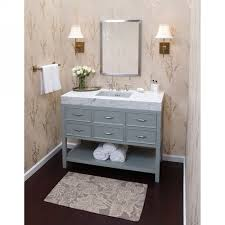 Ronbow 052748-F21 Neo-Classic Ocean Gray Single Basin Bathroom ...