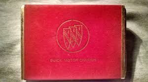 buick motor division playing cards