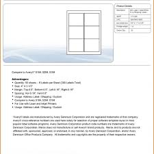 labels 6 per page worksheet template 6 labels per sheet template and 6 labels per