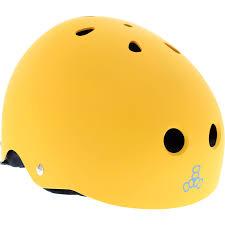 Triple 8 Brainsaver Size Chart Details About Triple 8 Helmet Yellow Rubber Black L