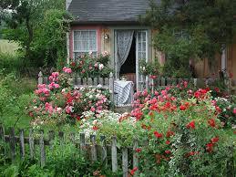 English Cottage Garden  庭作りの愉しみ  Pinterest  English Romantic Cottage Gardens