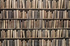 Astonishing Bookshelf Wallpaper Bedroom Photo Inspiration