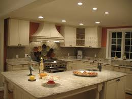 Recessed Lighting Kitchen Fascinating Recessed Lighting Placement Galley Kitchen Kitchen