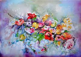 saatchi art artist soos roxana gabriela painting spring haiku large spring fl