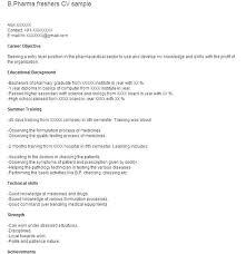 Best Freshers Resume Format Ideas Of Fresher Resume Models For