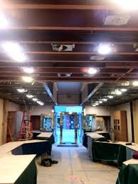 install pot lights in finished ceiling completion of ceiling wiring install recessed lighting cans installing recessed