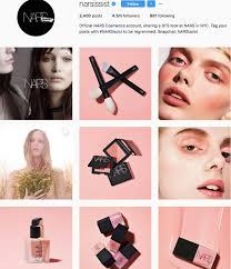 nars narsissist beauty brands makeup brands list insram beauty brands to follow on insram