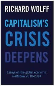 capitalism s crisis deepens by richard d wolff paperback  stock photo