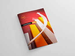 Clean And Simple Annual Report Brochure By Idesignstudio Dribbble