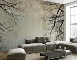 customize 3d wallpaper walls scandinavian style branch sky papel de parede do desktop mural wallpaper 3d in wallpapers from home improvement on