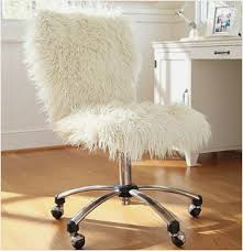 new fuzzy desk chair
