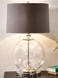 glass table lamps illuminate your room with classy style furnitureanddecors com decor