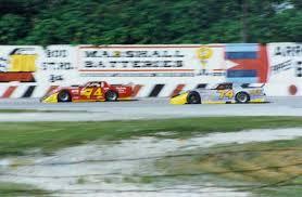 1986 Marion Edwards, Jr. Memorial race - Wesley Mills leading Robert  Hamke...