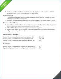 Cna Sample Resume Best Hr Sample Resume Resume Sample Hr Manager