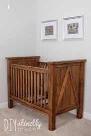 rustic crib furniture. DIY Crib Rustic Furniture I