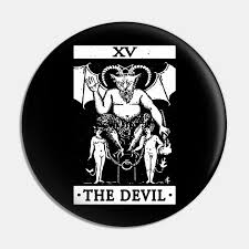 <b>VINTAGE TAROT CARD T</b> SHIRT, THE DEVIL CARD, OCCULT ...