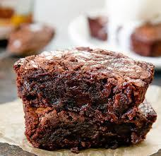 Nutella Topped Brownies Single Serving 3 Ingredient Nutella Brownie For One Kirbies