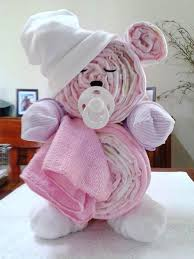 teddy bear diaper cake fun baby shower diy party ideas and instructions for how to