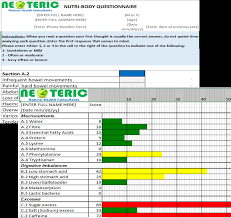 Step 1 Online Health Assessment Neoteric Natural Health