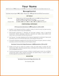 Front Desk Clerk Resume Resume Online Builder
