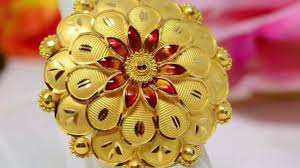 Traditional Ring Designs In Gold Latest Traditional Gold Ring Gold Rings New Design Youtube