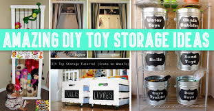30 amazing diy toy storage ideas for crafty moms