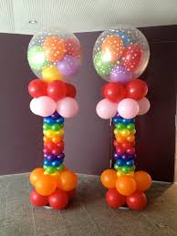 Columns For Decorations Balloon Column 21st Pinterest Gumball Columns And Primary