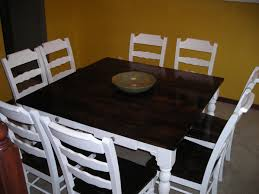 Refinished Kitchen Tables Refinish Dining Room Table