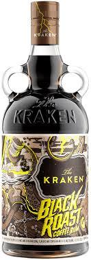 Pour in 45ml (1 1/2 shots) of the kraken spiced rum and top with ginger beer. Kraken Black Roast Kraken Rum