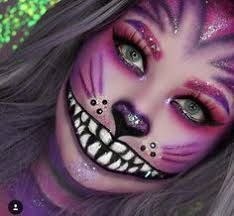 betty trich pink cheshire cat makeup
