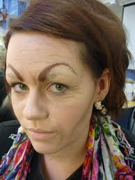 ageing se makeup removed eyebrows