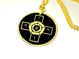 details about rosicrucian rose cross talisman solid brass occult amulet magick freemasons