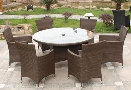 country rattan dining sets outdoor for garden with round table sets
