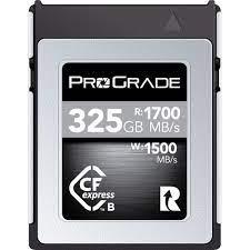 ProGrade Digital 325GB CFexpress 2.0 Cobalt Memory PGCFX325GCPBH