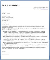executive assistant cover letter samples executive assistant cover letter