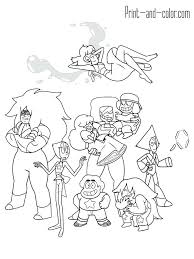 Steven Universe Coloring Pages Universe Coloring Pages Pearl Items