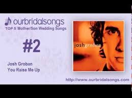 46 best mother son wedding dance images on pinterest wedding Wedding Dance You Raise Me Up top 5 mother son wedding songs Josh Groban You Raise Me Up