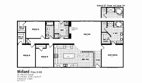 double wide manufactured homes floor plans fresh 18 80 mobile home floor plans inspirational 60 new double wide