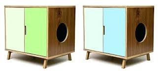 furniture to hide litter box. Cat Litter Hider Box Furniture Hide Modernist Retro Kitty Stores To R