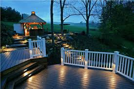 outdoor deck lighting. image of warm deck lighting ideas outdoor l