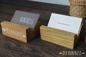wood business card holder beautiful diy wooden huntress of