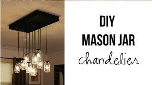 diy mason jar lighting. DIY Mason Jar Chandelier Diy Lighting E