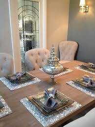 Designer Dining Table Mats My Dining Room Love The Placemats My Home Kitchen In