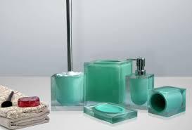 polyresin bathroom accessories set