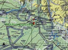Pakistani Aviation Charts Jet Navigation Chart Paf