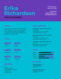 Infographic Resume Template - Venngage