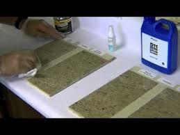 sealer testing on granite