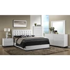 Elegant White Avery Tufted Bedroom set - Mattress King Of Las Vegas