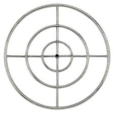 stanbroil 48 round fire pit burner ring 304 series ss btu 593 000 max